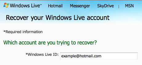 How to recover email from old hotmail account? - Microsoft ...