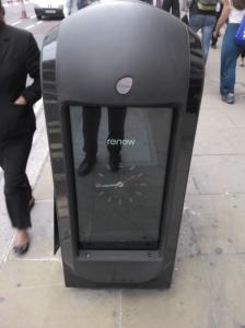 Renew London waste bin