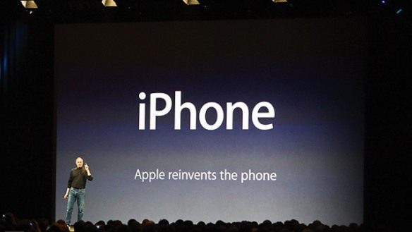 Apple reinvents the phone